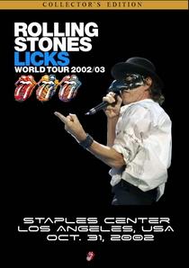 Rolling Stones - Staples Center 2002 - Poster / Capa / Cartaz - Oficial 1