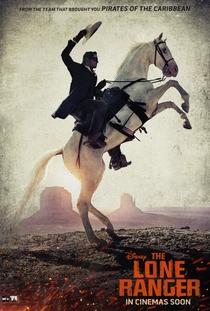 O Cavaleiro Solitário - Poster / Capa / Cartaz - Oficial 4