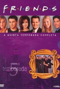 Friends (5ª Temporada) - Poster / Capa / Cartaz - Oficial 1