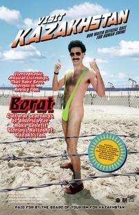 Borat - O Segundo Melhor Repórter do Glorioso País Cazaquistão Viaja à América - Poster / Capa / Cartaz - Oficial 4