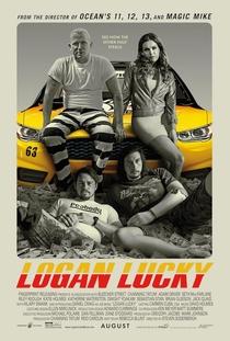 Logan Lucky - Roubo em Família - Poster / Capa / Cartaz - Oficial 1