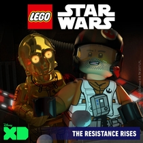 Lego Star Wars: The Resistance Rises - Poster / Capa / Cartaz - Oficial 1