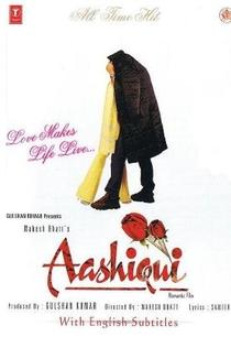 Aashiqui - Poster / Capa / Cartaz - Oficial 1