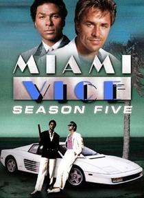 Miami Vice (5ª Temporada) - Poster / Capa / Cartaz - Oficial 1