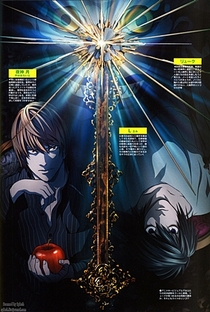 Death Note (1ª Temporada) - Poster / Capa / Cartaz - Oficial 10