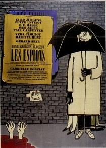Os Espiões - Poster / Capa / Cartaz - Oficial 1
