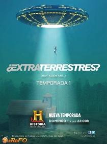 Extraterrestres - Poster / Capa / Cartaz - Oficial 1