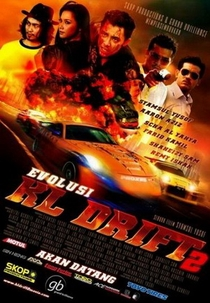 Evolusi KL Drift 2 - Poster / Capa / Cartaz - Oficial 1