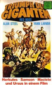 Hércules, Sansão, Maciste e Ursus, Os Invencíveis - Poster / Capa / Cartaz - Oficial 2