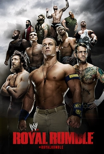 WWE Royal Rumble 2014 - Poster / Capa / Cartaz - Oficial 1