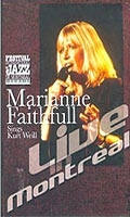 Marianne Faithfull Sings Kurt Weil - Live in Montreal - Poster / Capa / Cartaz - Oficial 1