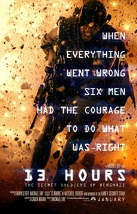 13 Horas - Os Soldados Secretos de Benghazi - Poster / Capa / Cartaz - Oficial 1