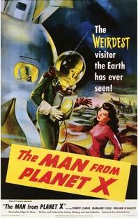 O Homem do Planeta X - Poster / Capa / Cartaz - Oficial 1
