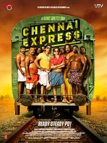 Chennai Express - Poster / Capa / Cartaz - Oficial 4