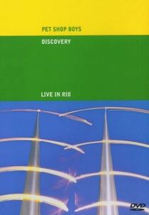 Pet Shop Boys - Dicovery Tour (Live in Rio) - Poster / Capa / Cartaz - Oficial 1