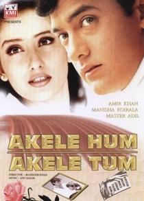 Akele Hum Akele Tum - Poster / Capa / Cartaz - Oficial 3