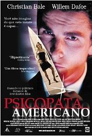 Psicopata Americano - Poster / Capa / Cartaz - Oficial 2