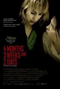 4 Meses, 3 Semanas e 2 Dias - Poster / Capa / Cartaz - Oficial 2