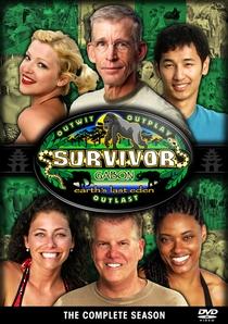 Survivor: Gabon (17ª Temporada) - Poster / Capa / Cartaz - Oficial 2