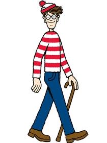 Onde está Wally? - Poster / Capa / Cartaz - Oficial 1