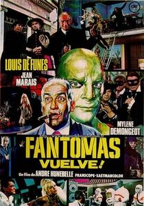 A Volta de Fantomas - Poster / Capa / Cartaz - Oficial 6