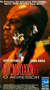 Kickboxer 4 - O Agressor - Poster / Capa / Cartaz - Oficial 3