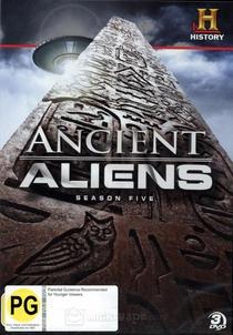 Alienígenas do Passado (5ª Temporada) - Poster / Capa / Cartaz - Oficial 1