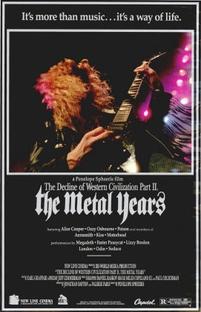 Os Anos do Heavy Metal - O Declínio da Civilização Ocidental - Poster / Capa / Cartaz - Oficial 1