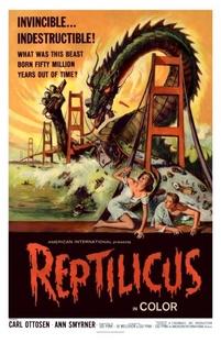Reptilicus - Poster / Capa / Cartaz - Oficial 1