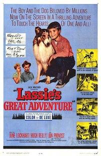 A Grande Aventura de Lassie - Poster / Capa / Cartaz - Oficial 1