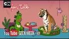 Tiger Talk - Uncle Grandpa | Geek Week | Cartoon Network