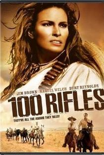 100 rifles - Poster / Capa / Cartaz - Oficial 1