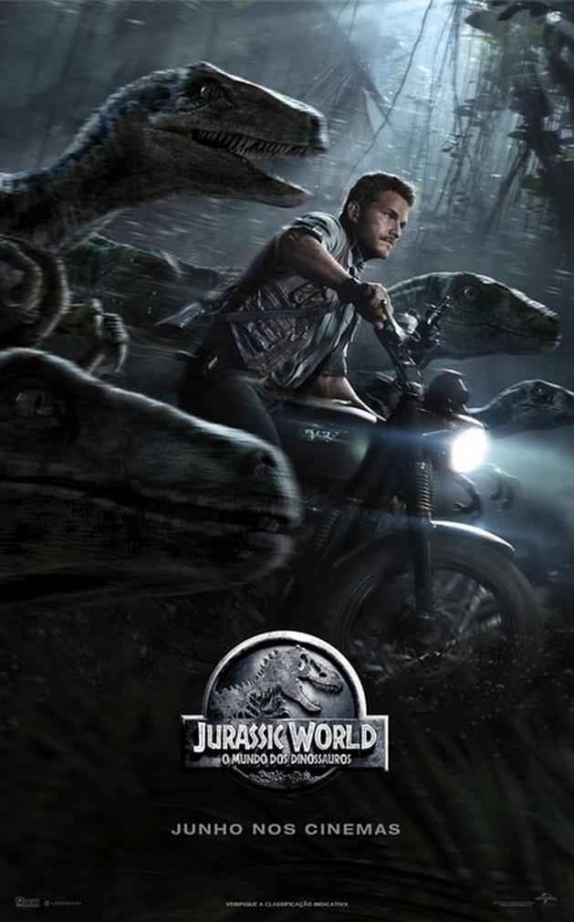 Cinema animal! Confira o novo trailler de Jurassic World - o Mundo dos Dinossauros - Showmetech
