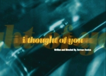 I Thought of You - Poster / Capa / Cartaz - Oficial 1