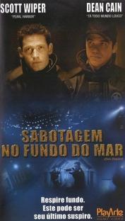 Sabotagem no Fundo do Mar - Poster / Capa / Cartaz - Oficial 1