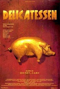 Delicatessen - Poster / Capa / Cartaz - Oficial 1
