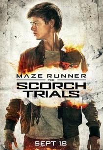 Maze Runner: Prova de Fogo - Poster / Capa / Cartaz - Oficial 11
