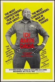 General Idi Amin Dada - Poster / Capa / Cartaz - Oficial 3