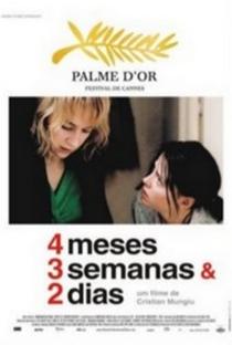 4 Meses, 3 Semanas e 2 Dias - Poster / Capa / Cartaz - Oficial 9