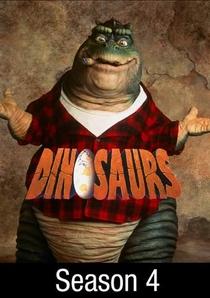 Família Dinossauros (4ª Temporada) - Poster / Capa / Cartaz - Oficial 2
