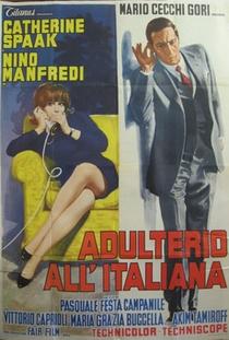 Adultério à Italiana  - Poster / Capa / Cartaz - Oficial 3
