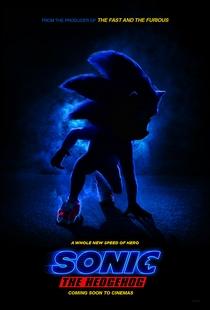 Sonic - O Filme - Poster / Capa / Cartaz - Oficial 2