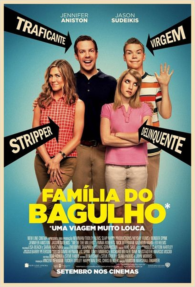Família do Bagulho (We're The Millers) - Crítica