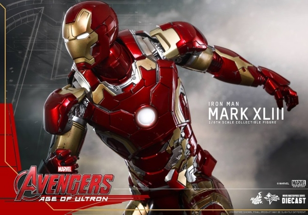 """Vingadores 2: revelada a armadura do Homem de Ferro em """"Era de Ultron"""""""