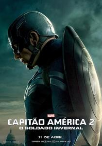 Capitão América 2: O Soldado Invernal - Poster / Capa / Cartaz - Oficial 7