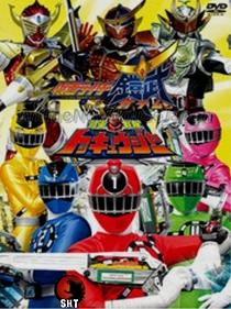 Express Sentai ToQGer VS Kamen Rider Gaim - Poster / Capa / Cartaz - Oficial 3