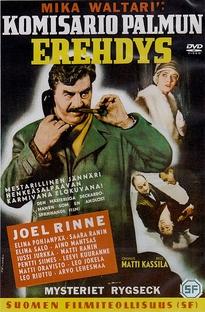 Inspector Palmu's Error - Poster / Capa / Cartaz - Oficial 1