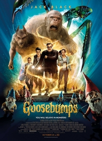 Goosebumps - Monstros e Arrepios - Poster / Capa / Cartaz - Oficial 2