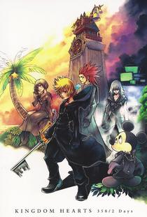 Kingdom Hearts 358/2 Days - Poster / Capa / Cartaz - Oficial 1