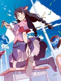 Nekomonogatari: Kuro - Poster / Capa / Cartaz - Oficial 1